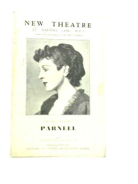 New Theatre Programme. Margaret Rawlings in Parnell By Unstated