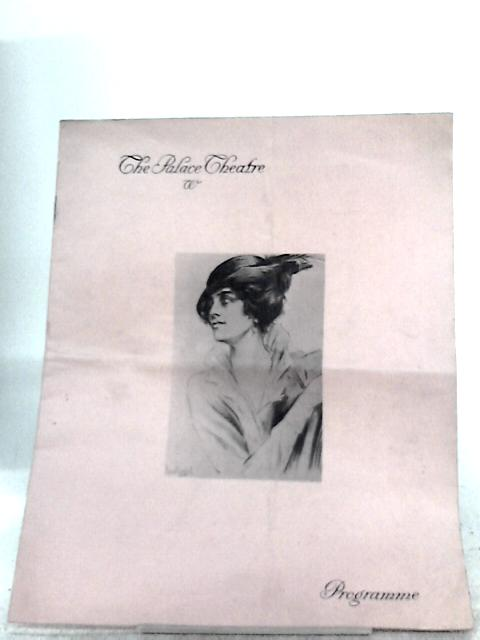 The Palace Theatre Programme - Passing Show of 1915
