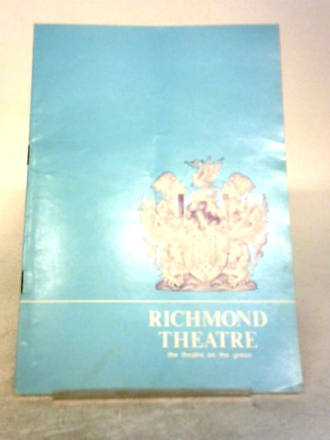Picture of Innocence, Richmond Theatre Programme 1978 By Richmond Theatre