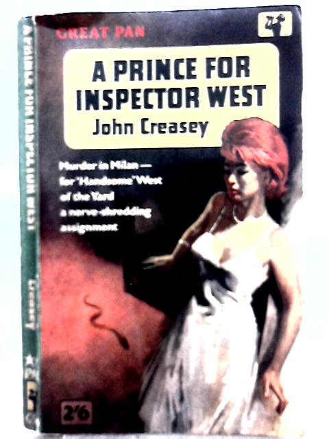 A Prince for Inspector West By John Creasey