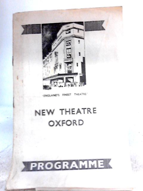 Twelfth Night by William Shakespeare, New Theatre (Oxford) Programme 1947 By William Shakespeare