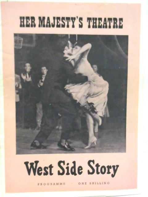 West Side Story, Her Majesty's Theatre Programme 1960