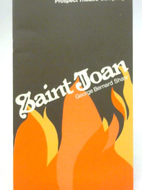Saint Joan by G. B. Shaw, Prospect Theatre Company Programme 1977