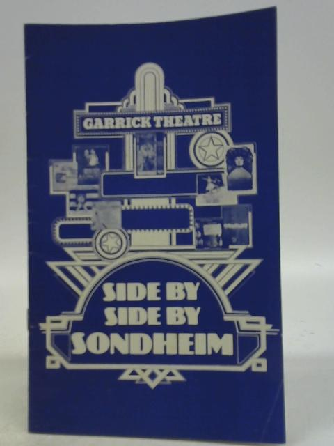 Side by Side by Sondheim, Garrick Theatre Programme 1977 By Various