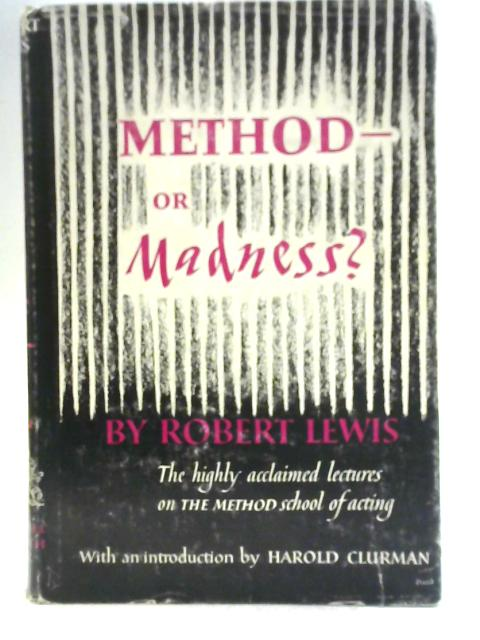 Method or Madness By Robert Lewis