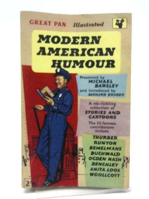 Modern American Humour By Barsley, Michael