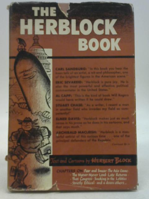 The Herblock Book By Herbert Block