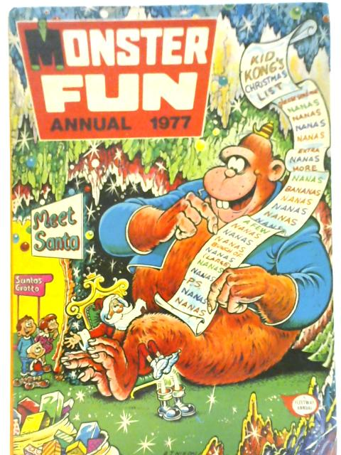 Monster Fun Annual 1977 By Various
