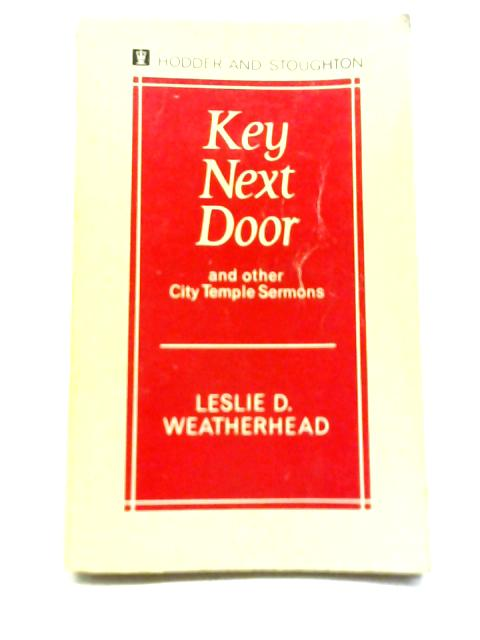 Key Next Door By Leslie D. Weatherhead