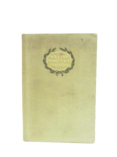 The Book of Snobs etc. By William Makepeace Thackeray