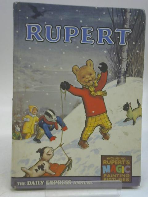 Rupert The Daily Express Annual 1968