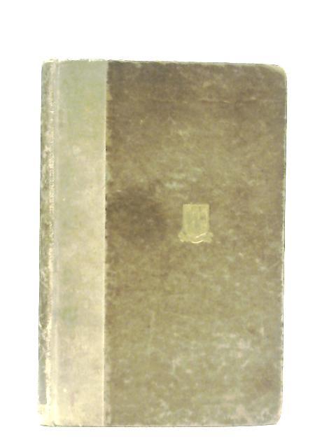 University Verses 1910-1927 By W. MacNeile Dixon