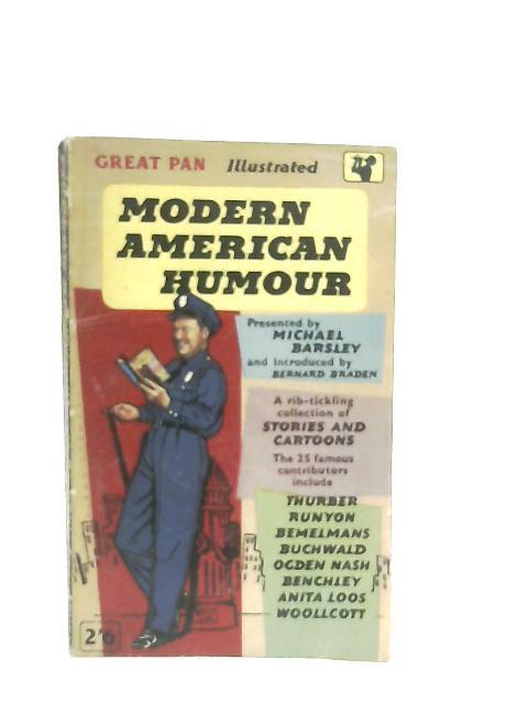 Modern American Humour By Michael Barsley