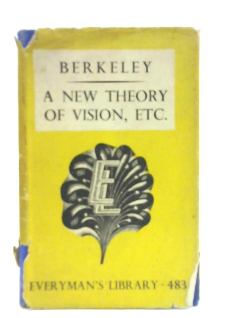 A New Theory of Vision and other Writings By George Berkeley