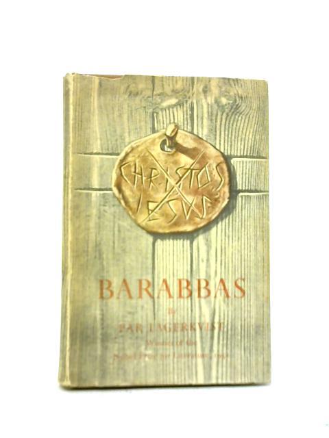 Barabbas By Par Lagerkvist