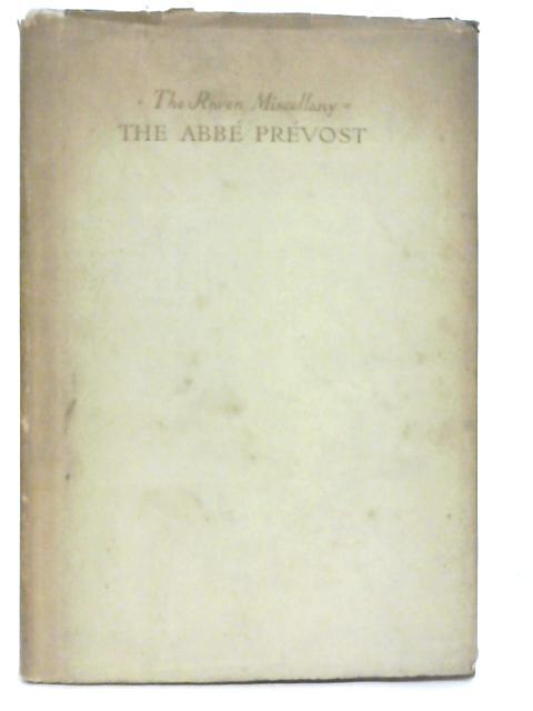 The Abbé Prévost By Helen Waddell