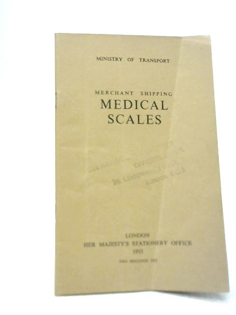 Merchant Shipping Medical Scales By Unstated
