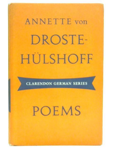 Poems By Annette Von Droste-Hulshoff
