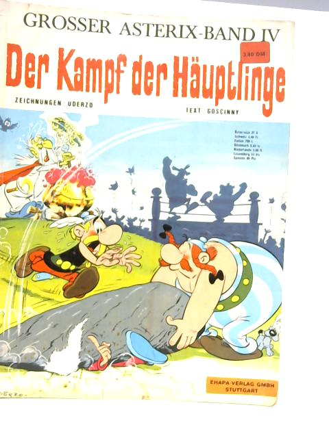 Der Kampf Der Hauptlinge By Goscinny & Uderzo