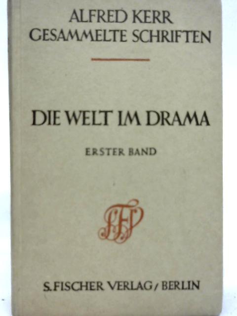 Das Neue Drama Band I By Alfred Kerr