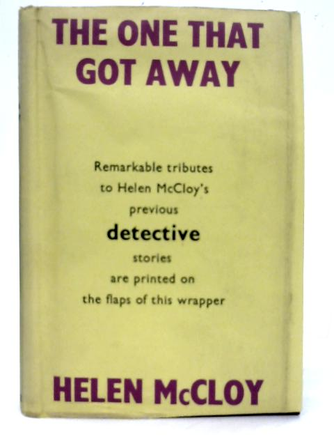 The One that Got Away By Helen McCloy