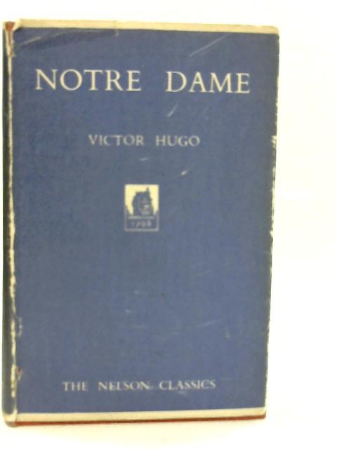 Notre Dame By Victor Hugo
