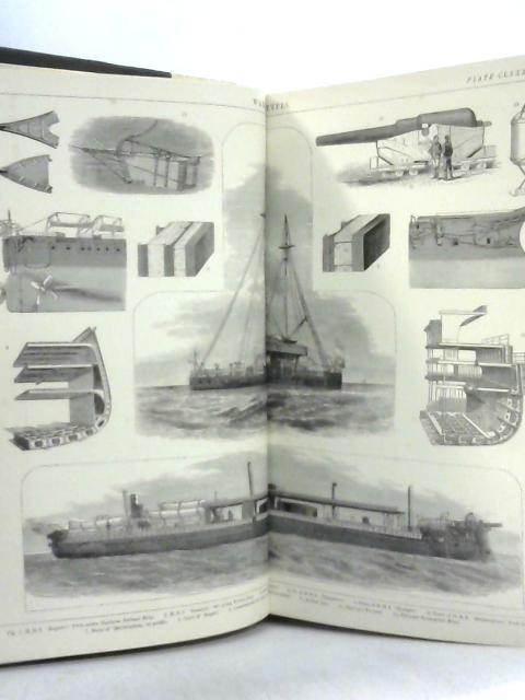 Vintage 1881 Plate Collection Printed by Blackie & Son, including Ships, Animals & Anatomy etc