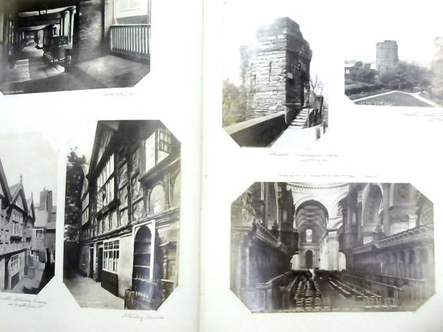 Vintage West Country Architecture Photo Album, 1885-86