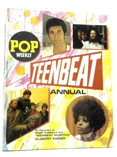 Pop Weekly Teenbeat Annual 1971 By Albert Hand