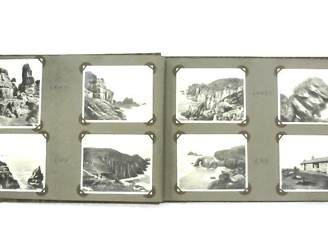 Vintage Holiday Photo Album of Cornwall 1931