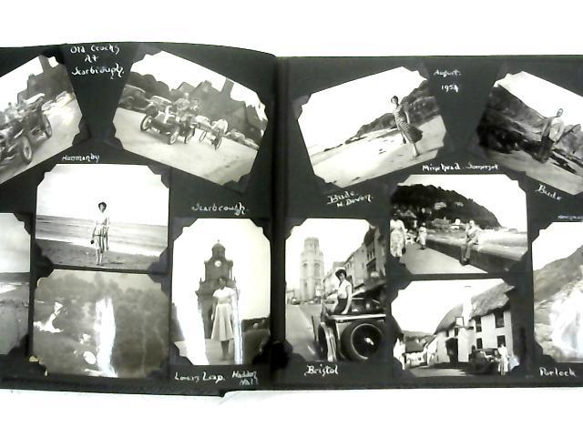 Vintage Holiday Photo Album 1953-55