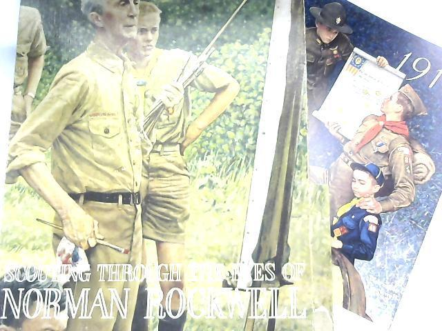 Scouting Through the Eyes of Norman Rockwell, Boxed Set of 44 Prints