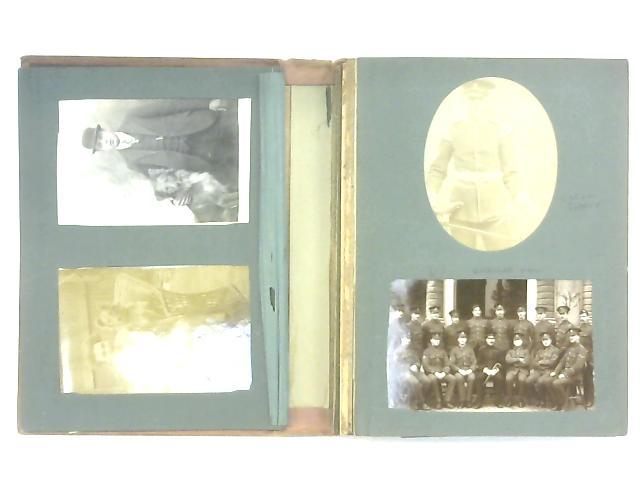 Vintage Family Photo Album Circa 1890s-1910s