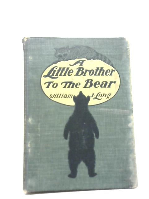 A Little Brother to The Bear and Other Animal Studies By William J. Long