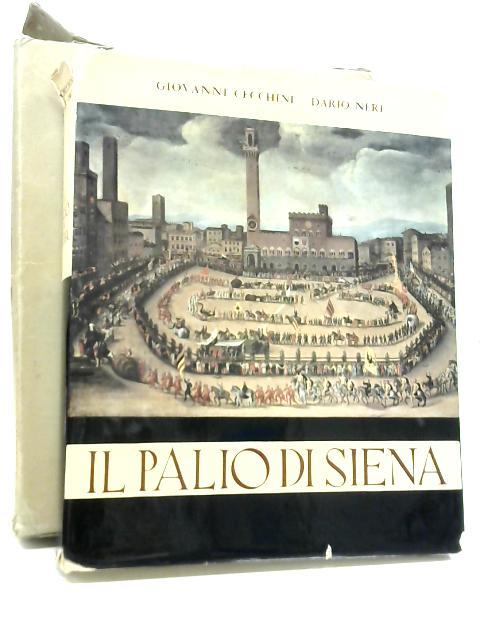 Il Palio di Siena By Giovanni Cecchini & Dario Neri