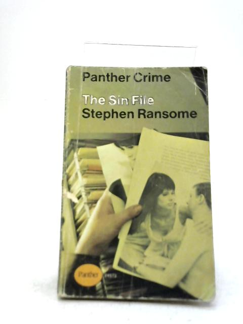 The Sin File By Stephen Ransome