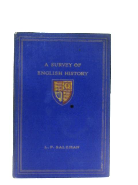 A Survey of English History By L. F. Salzman