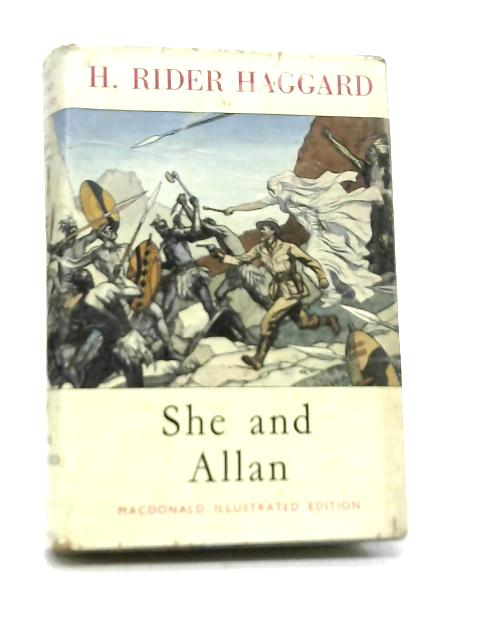 She and Allan By H Rider Haggard