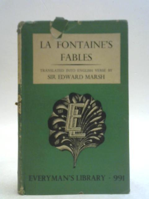 """La Fontaine""""s Fables By Jean de La Fontaine"""
