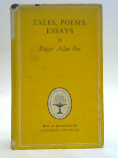 Tales, Poems, Essays. By Edgar Allan Poe
