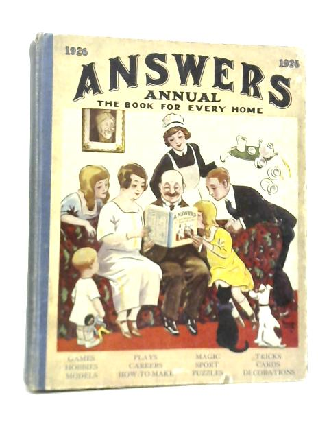 Answers Annual By Various