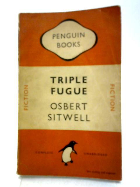 Triple Fugue By Osbert Sitwell