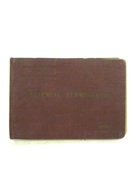 Album de Material Ferroviario Abril de 1924 Sociedad Espanola de Construccion Naval By Anon