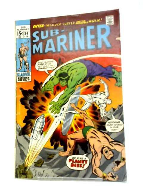 The Sub-Mariner (1968) #34 By Roy Thomas