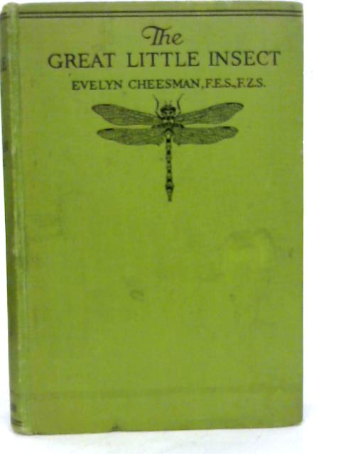 The Great Little Insect By Evelyn Cheesman
