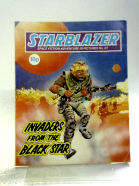Starblazer No. 87 - Invaders from the Black Star By D C Thomson