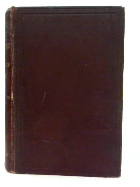 A Manual of Medical Treatment Vol.I By I. Burney Yeo