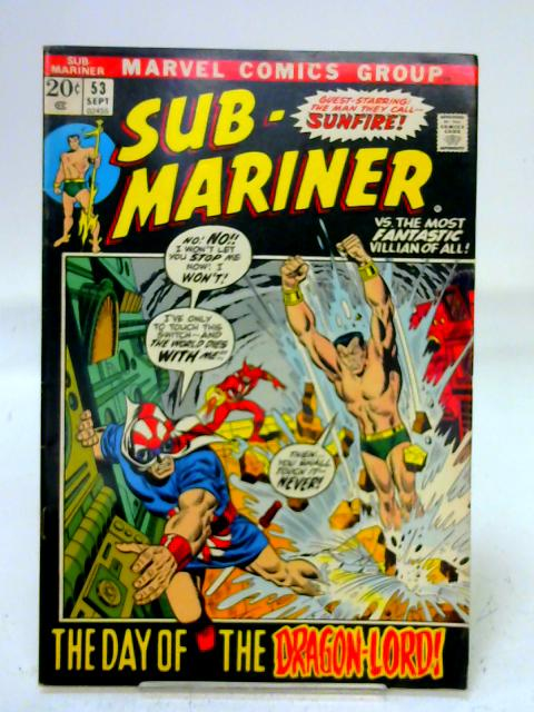 Sub-Mariner #53 By unstated