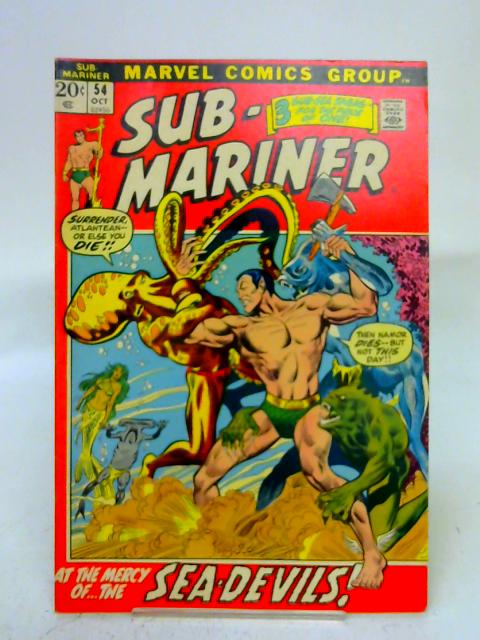 Sub-Mariner #54 By unstated