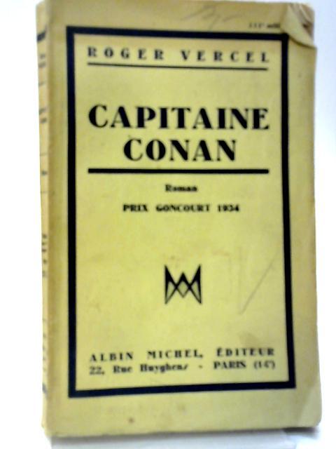 Captaine Conan By Roger Vercel
